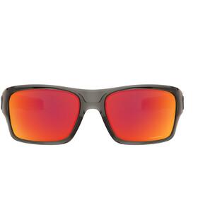 Oakley Turbine XS Sunglasses Youth, grijs/rood